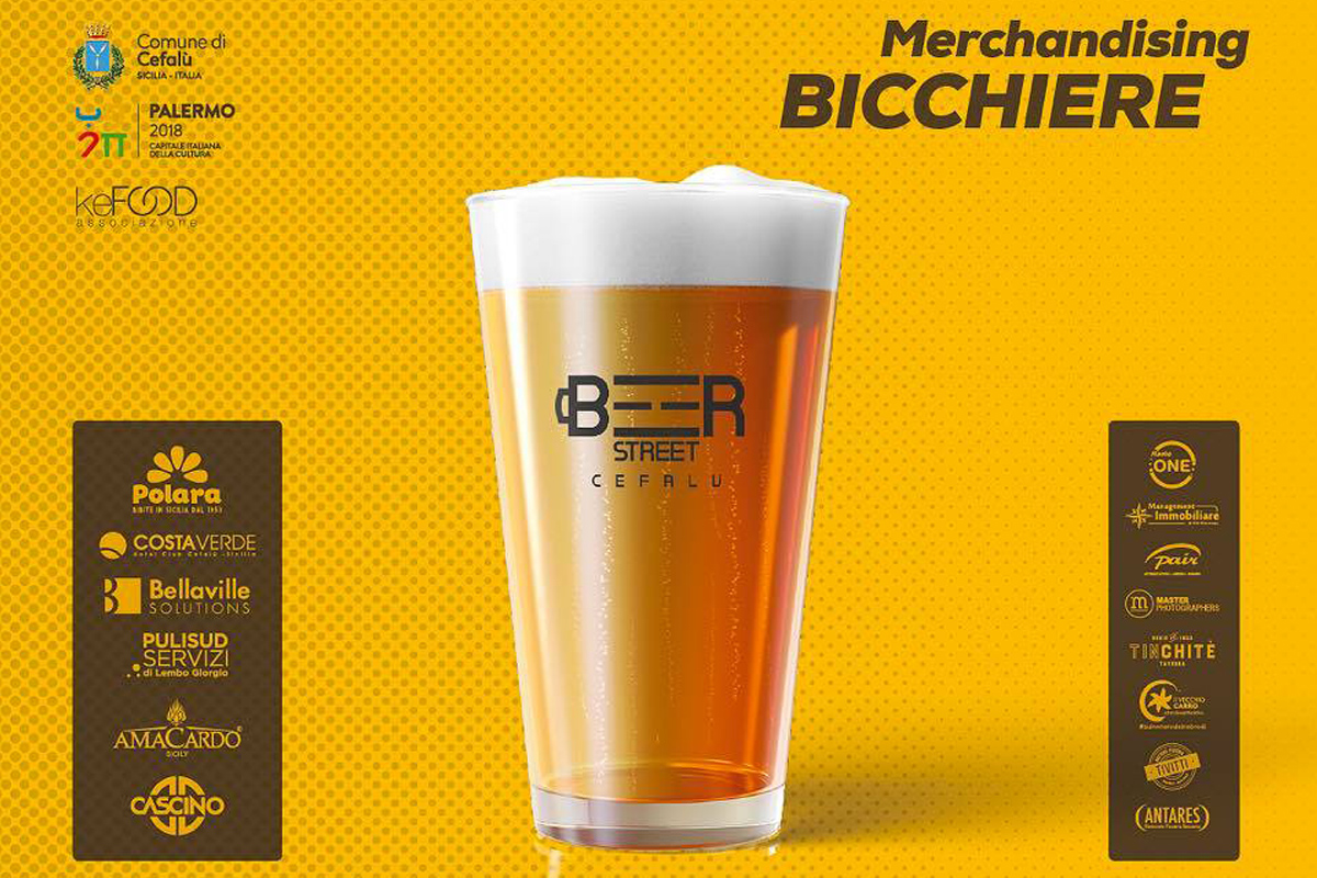 Welcome Kit! Ecco il bicchiere del Beer Street Festival